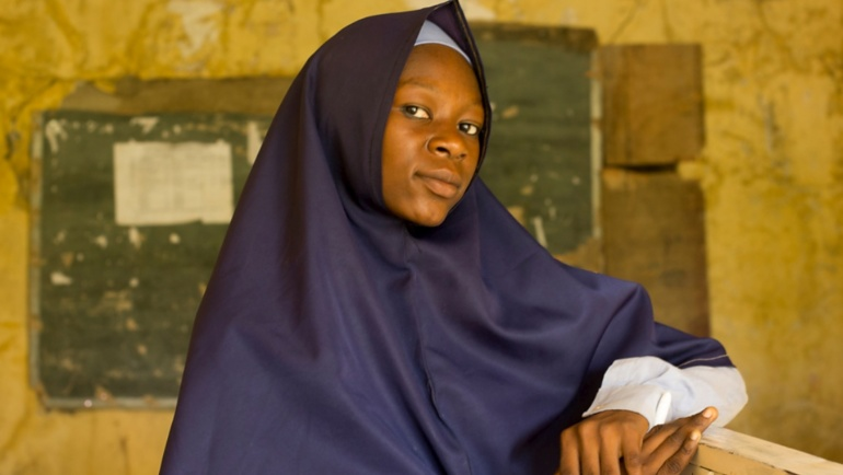 Nigerian girls from Nansen award winner's school dream again